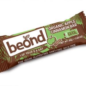 Beond Biologische Apple-Cinnamon Bar 35 Gram gezond?