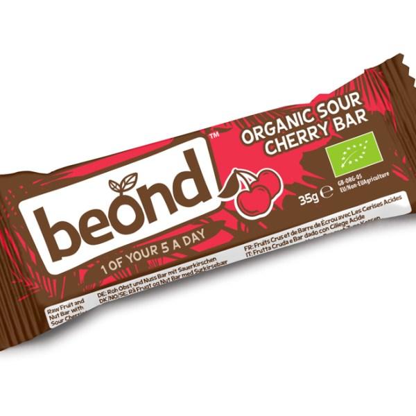 Beond Biologische Cherry Bar 35 Gram gezond?