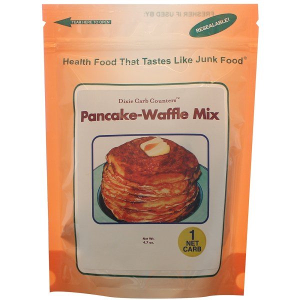 Carb Counters Pannenkoek and Wafel mix - 2.8 oz. - blueberry cream gezond?