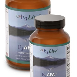 E3 Live Afa Blue Green Algae 60 Caps./400 Mg gezond?