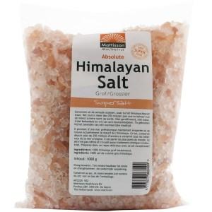 Himalaya Keukenzout Grof (navulzak) gezond?