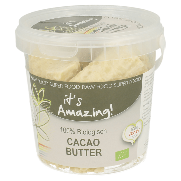Its Amazing Cacao Butter Ruw 300gr gezond?