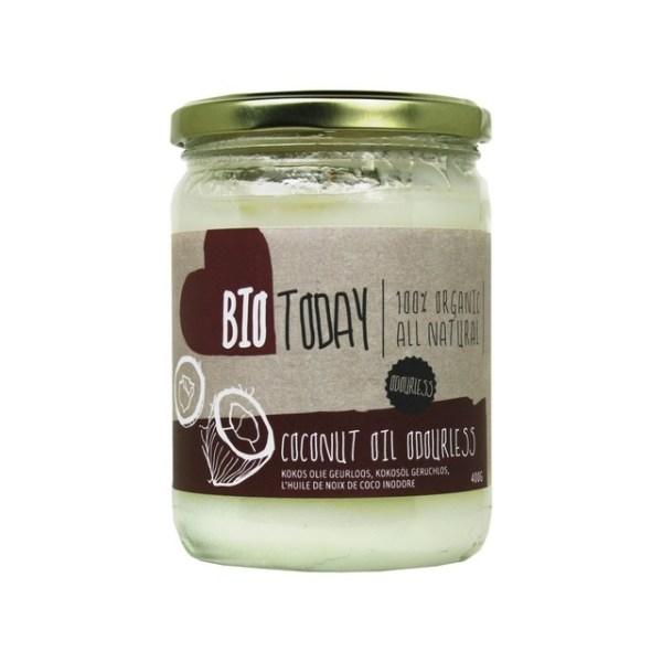 Kokosolie BIO en ontgeurd - 400 gram gezond?