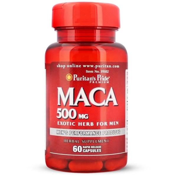 Maca 500 mg gezond?
