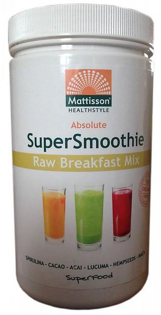Mattisson HealthStyle SuperSmoothie Raw Breakfast Mix gezond?