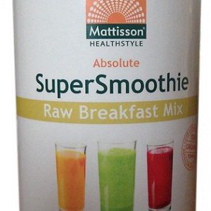 Mattisson HealthStyle SuperSmoothie Raw Breakfast Mix gezond?