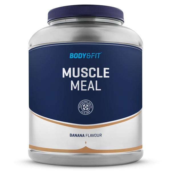 Muscle Meal - 1800 gram - banana milkshake gezond?