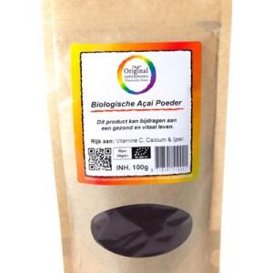 Original Superfoods Biologische Acaipoeder 100 Gram gezond?
