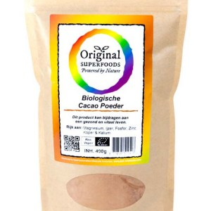 Original Superfoods Biologische Cacaopoeder Peru 400 Gram gezond?