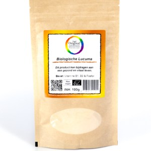 Original Superfoods Biologische Lucumapoeder 100 Gram