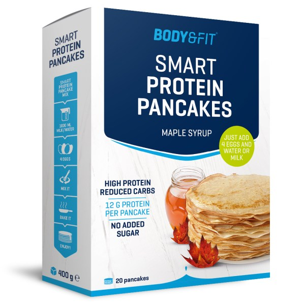 Smart Protein Pannenkoekenmix - 3 -pack - Maple Syrup gezond?