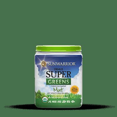 Sunwarrior Biologische Ormus Supergreens Mint 226