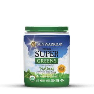 Sunwarrior Biologische Ormus Supergreens Natural 454 Gram