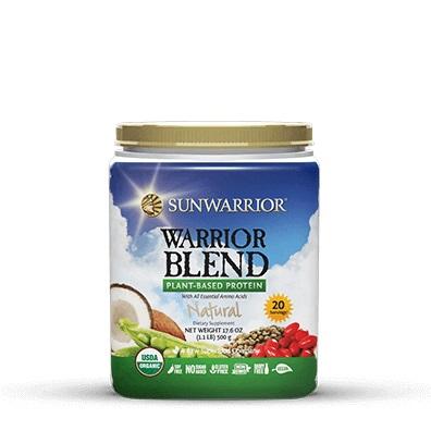 Sunwarrior Blend Naturel 500 Gram gezond?