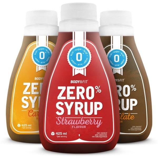 Zero Syrups - 400 ml - Banana Syrup gezond?
