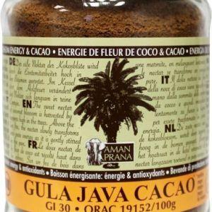 aman prana gula java cacao gezond?
