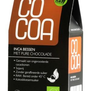 Cocoa Inca Bessen Pure Chocolade RAW gezond?