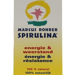 Marcus Rohrer Spirulina Poeder gezond?