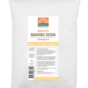 Mattisson HealthStyle Baking Soda Zuiveringszout