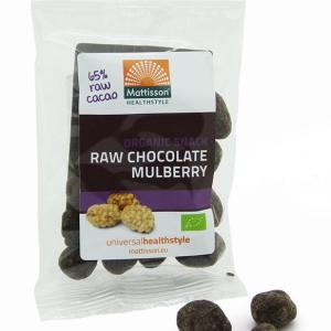 Mattisson HealthStyle Snack Mulberry Raw Chocolate gezond?