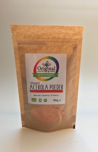 Original Superfoods Biologische Acerola Poeder 100 Gram