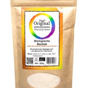 Original Superfoods Biologische Baobabpoeder 300 Gram
