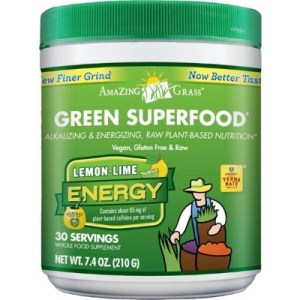 Amazing Grass Energy Lemon Lime Green Superfood (210g) gezond?