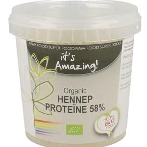 Its Amazing Organic Hennep Proteine 58%