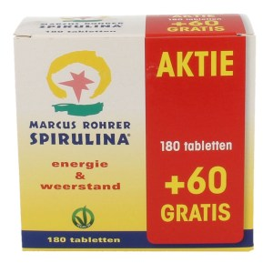 Marcus Rohrer Spirulina Tabletten 180+60 gratis gezond?