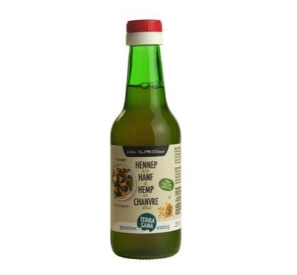 Terrasana Raw Hennep Olie Koudgeperst In Glas (250ml) gezond?