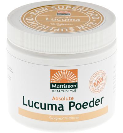 Mattisson Absolute Lucuma Poeder Raw Bio (300g) gezond?