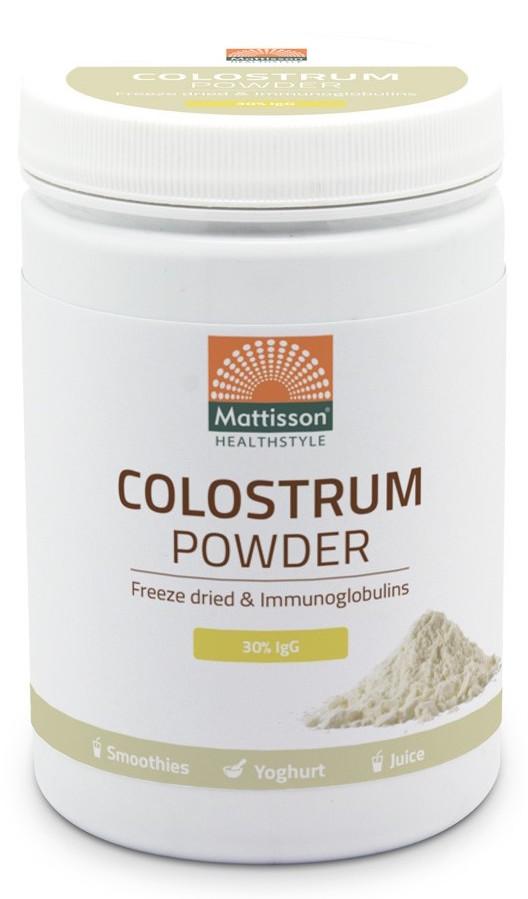 Mattisson HealthStyle Colostrum Powder