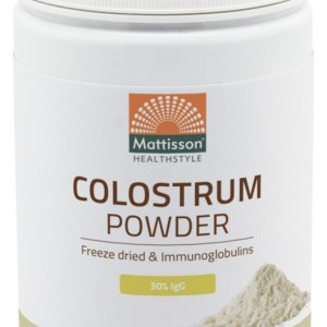 Mattisson HealthStyle Colostrum Powder