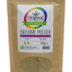 Original Superfoods Brahmi Poeder 150 Gram gezond?