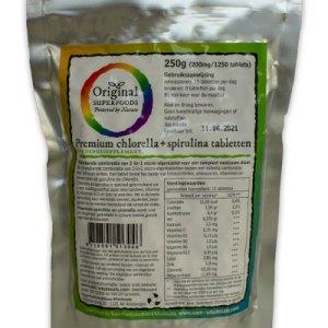 Original Superfoods Chlorella Spirulina Tabletten 50-50 1250 Stuks gezond?