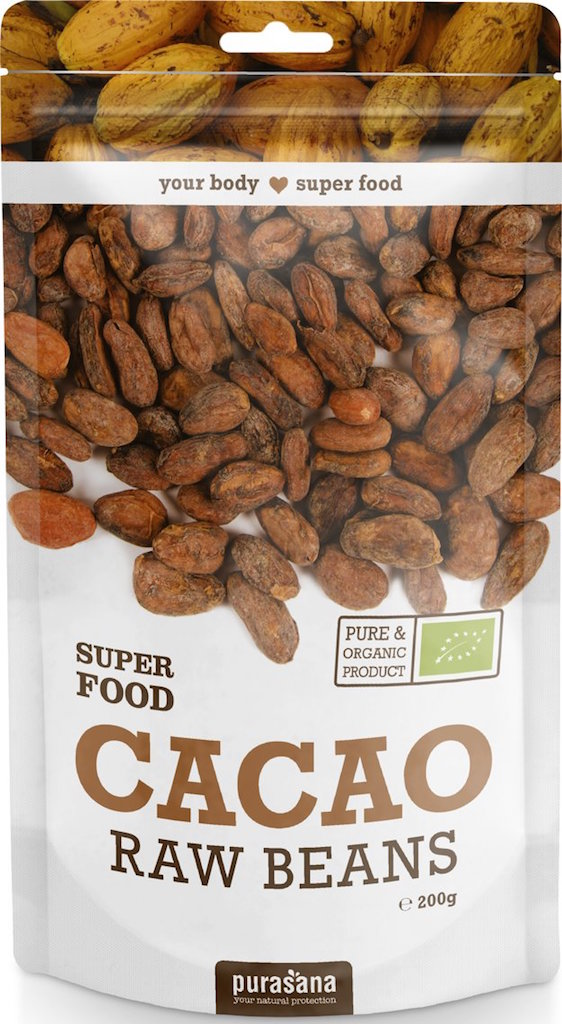 Purasana Cacao Raw Beans gezond?