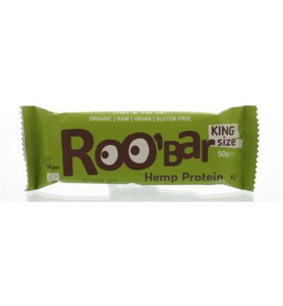 Roo Bar Hemp Proteine Bar (50g) gezond?