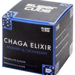 Supercube Chaga Elixir Bilberry & Crowberry 60 Gram gezond?