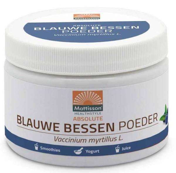 Mattisson HealthStyle Absolute Blauwe Bessen Poeder