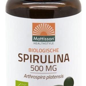 Mattisson HealthStyle Biologische Spirulina Tabletten