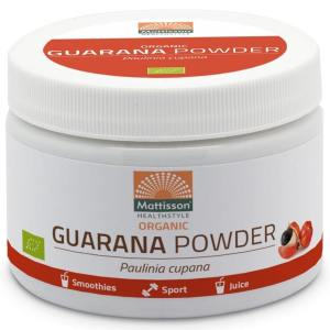 Mattisson HealthStyle Organic Guarana Powder