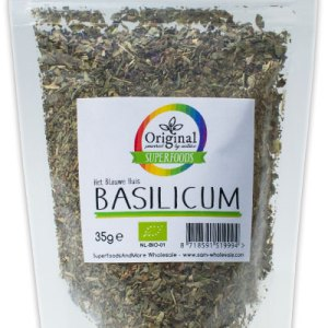 Original Superfoods Biologische Basilicum 35 Gram