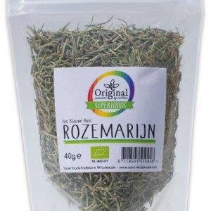 Original Superfoods Biologische Rozemarijn 40 Gram