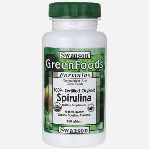 Greens Cert Org Spirulina 500mg gezond?