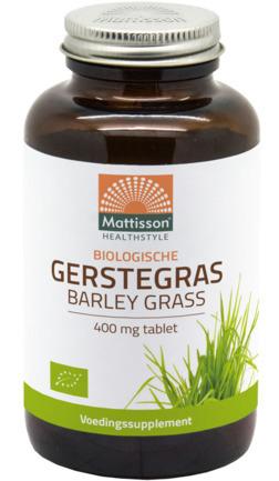 Mattisson HealthStyle Gerstegras Barley Grass Tabletten