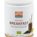 Mattisson HealthStyle Organic Breakfast SuperSmoothie Mix