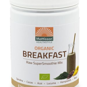 Mattisson HealthStyle Organic Breakfast SuperSmoothie Mix