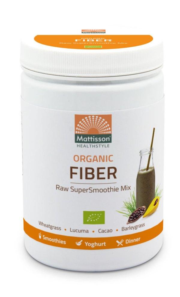 Mattisson HealthStyle Organic Fiber SuperSmoothie Mix