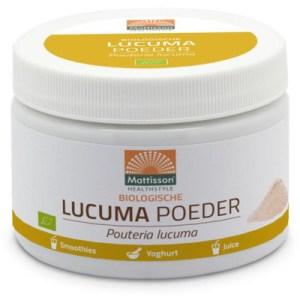 Mattisson Lucuma Poeder Pouteria Lucuma Biologisch (125g) gezond?