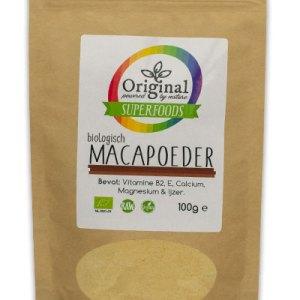 Original Superfoods Biologische Maca Poeder 100 Gram gezond?